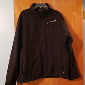 Mens XXL Columbia black lightweight jacket